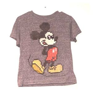 Disney Kids gray Mickey Mouse t-shirt